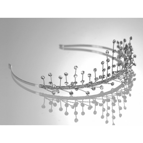 First Communion Tiara by Warren York International Style 2071