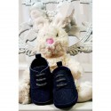 Baby Boys Navy Suede Christening/Wedding/Pram/ Formal Party Shoes Style 4143/191