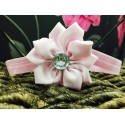 Pink Flower Baby Girl Special Occasions Headband Style 450