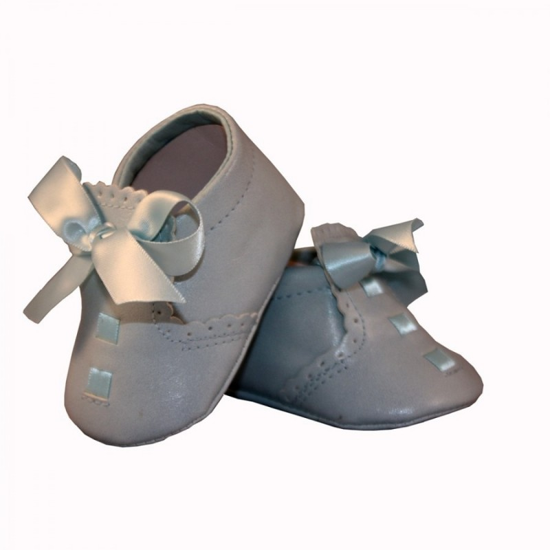 57b27a9fae36e ... Leather Baby Boys Blue Christening Shoes Elliot by Sevva