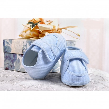 Baby Boys Blue Corduroy Christening/ Baptism Shoes Style 015/108