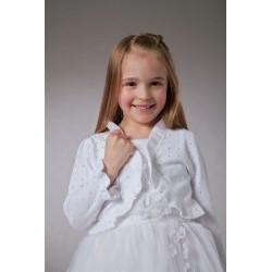 Couche Tot White Communion/Special Occasions Cardigan DIAMONDS