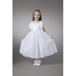 Couche Tot White Flower Girl/Special Occasion Dress Style 2755