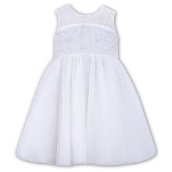 Sarah Louise White Christening Ceremonial Dress Style 070022
