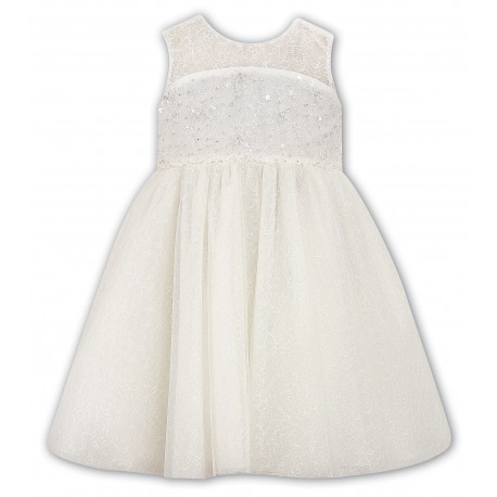Sarah Louise Ivory Christening Ceremonial Dress Style 070022