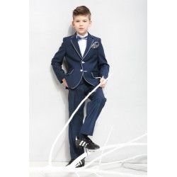 2 Piece Navy Communion/Special Occasions Suit Style DAWID L