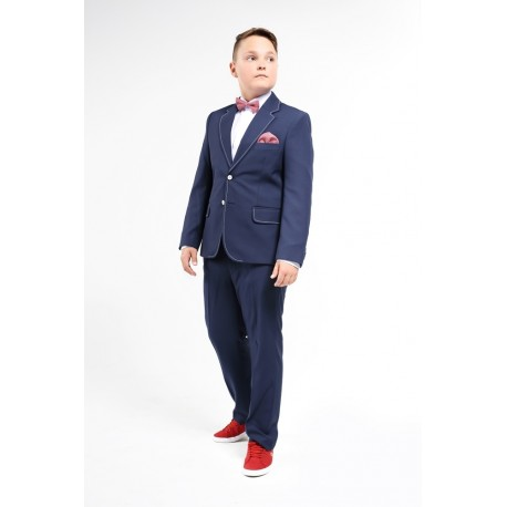2 Piece Elegant Navy Communion/Weddings/Special Occasions Suit Style DAWID S