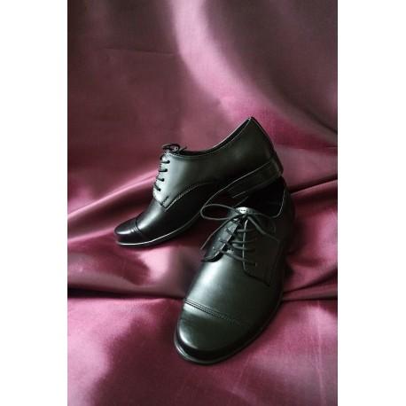 Black Leather Communion/Ceremonial Shoes bsh04