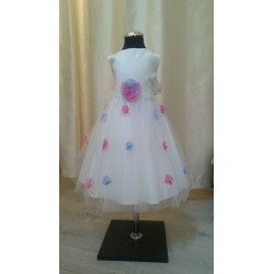 Handmade Charming Decorated with Flower Petals Flower Girls/Special Occasion Dress style Laila