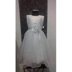 Gorgeous Handmade White Flower Girl/Special Occasion Dress style Ursula