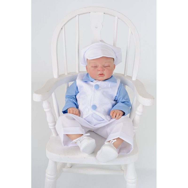 Pretty Blue and White Baby Boy Christening /Special ...