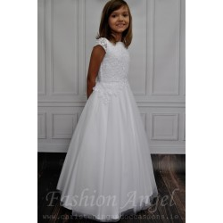 Lace Bodice Handmade Communion Dress style Alizee