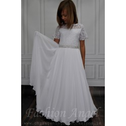 Handmade First Holy Communion Dress style Amelia