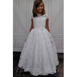 Unusual First Communion Dress style Julietta