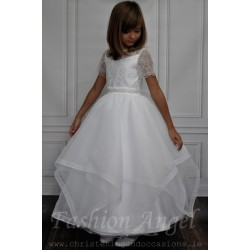 Lace Top Communion Dress style Clarisa