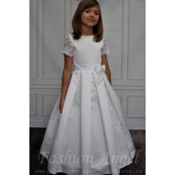 Elegant Satin Communion Dress style Missi