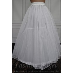 White Underskirt for Communion/Special Occasion Dresses US01