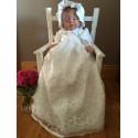 Eva Rose White Christening/Baptism Gown Style 10060