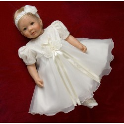Lovely Ivory Christening/Special Occasion Dress style Clara