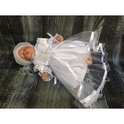 Stunning White Christening/Baptise/Special Occasion Dress style Bella