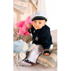An Extra Special Navy Outfit for a Christening /Special Occasion A013+