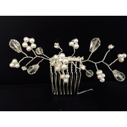 Silver Communion/Special Occasion Headdress Style 5275