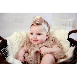 Beautiful Retro Style Lace Christening/Special Occasion Dress style Audrey