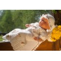 Beautiful Handmade Crochet Christening/Special Occasion Baby Girl Outfit style Summer Dream