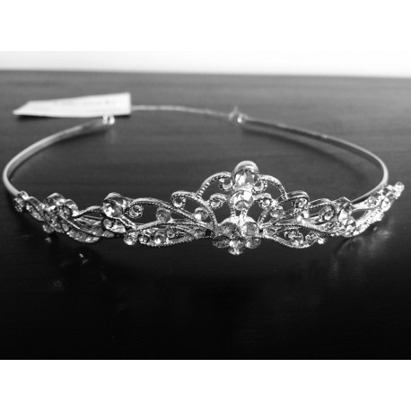 First Holy Communion Silver Tiara Style 4814