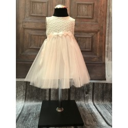 Christening/ Special Occasions Dress with Headband Style 4986