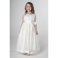 Flower Girls / Special Occasions Dress in Ivory Style V340