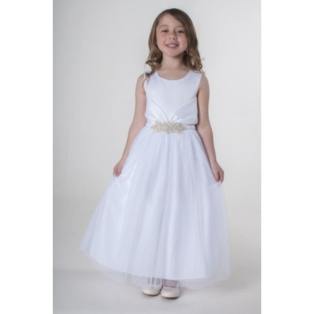 White Flower Girl / Special Occasions Dress Style V341