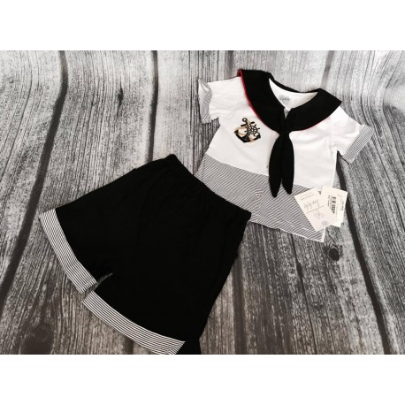 Baby Boy Marine Style Outfit style 10775