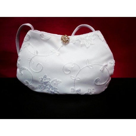 Small Cute Lace Communion Bag style 5316