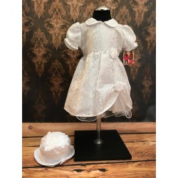White Christening/Special Occassion Dress style Moni