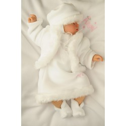 Winter Christening Dress Snow Princess II