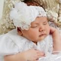 Baby girls Christening Headbands