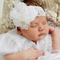 Christening Headbands and Hair clips